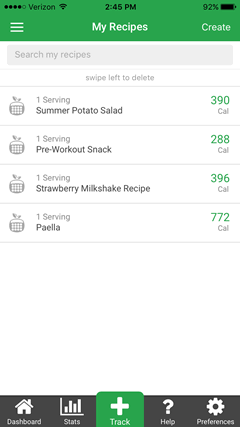 Nutritionix Track App - Free calorie counter with weight ...